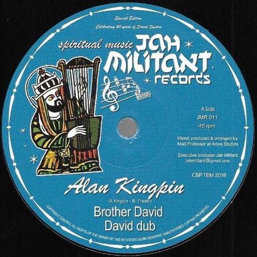 Alan King Pin : Brother David   Maxi / 10inch / 12inch     UK