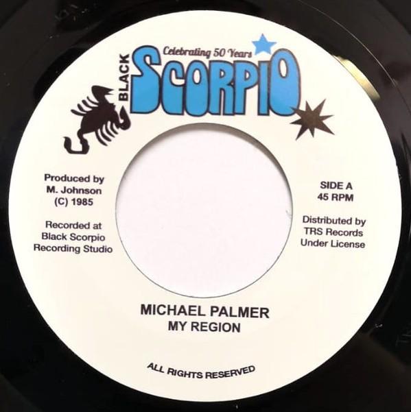 Michael Palmer : My Region | Single / 7inch / 45T  |  Oldies / Classics