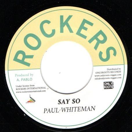 Paul Whiteman : Say So