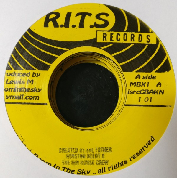 Winston Reedy : Created By The Father | Single / 7inch / 45T  |  UK