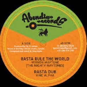 Rasta Rule The World : Vermon Maytone   Maxi / 10inch / 12inch     UK