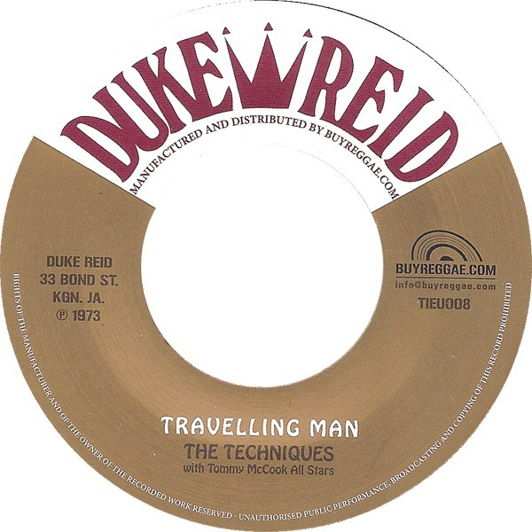 The Techniques : Travelling Man | Single / 7inch / 45T  |  Oldies / Classics