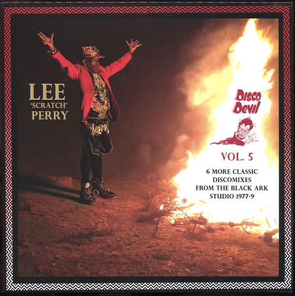 Lee Perry : Disco Devil Vol. 5 (6 More Classic Discomixes From The Black Ark Studio 1977-9) | LP / 33T  |  Oldies / Classics
