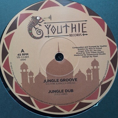 Youthie : Jungle Groove   Maxi / 10inch / 12inch     UK