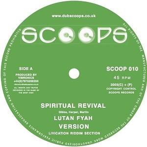 Lutan Fyah : Spiritual Revival + Version | Maxi / 10inch / 12inch  |  UK