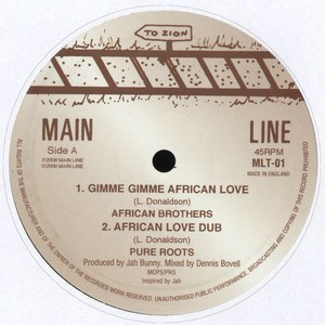 African Brothers : Gimme Gimme African Love   Maxi / 10inch / 12inch     Oldies / Classics