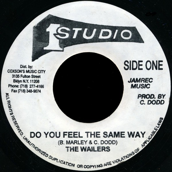 The Wailers : Do You Feel The Same Way / Destiny | Single / 7inch / 45T  |  Oldies / Classics