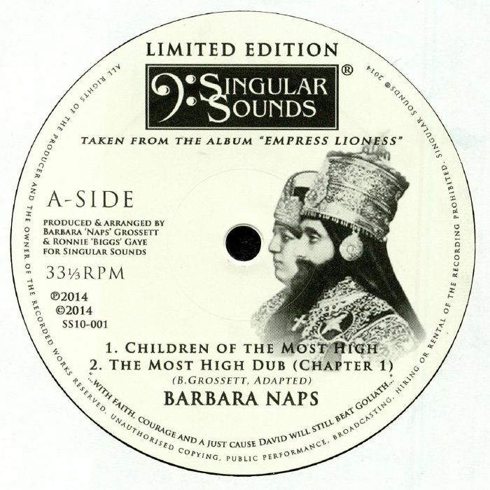 Barbara Naps : Children Of The Most High   Maxi / 10inch / 12inch     UK