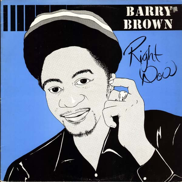 Barry Brown : Right Now | LP / 33T  |  Oldies / Classics