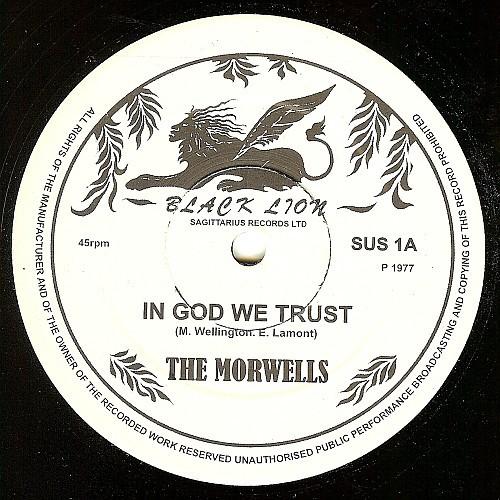 The Morwells : In God We Trust   Maxi / 10inch / 12inch     Oldies / Classics
