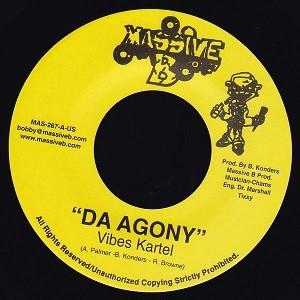 Vibes Kartel : Da Agony | Single / 7inch / 45T  |  Dancehall / Nu-roots