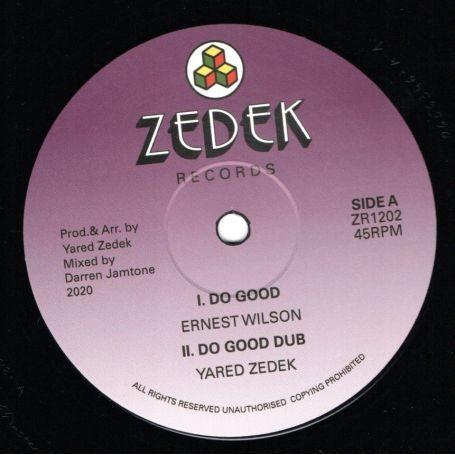 Ernest Wilson : Do Good   Maxi / 10inch / 12inch     UK