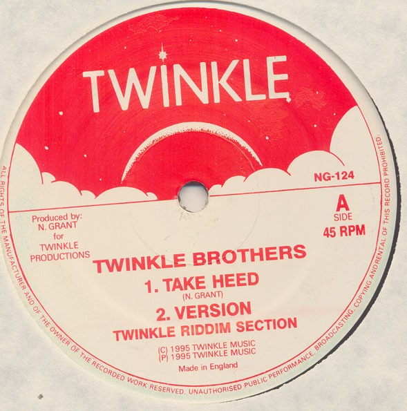Twinkle Brothers : Take Heed   Maxi / 10inch / 12inch     UK