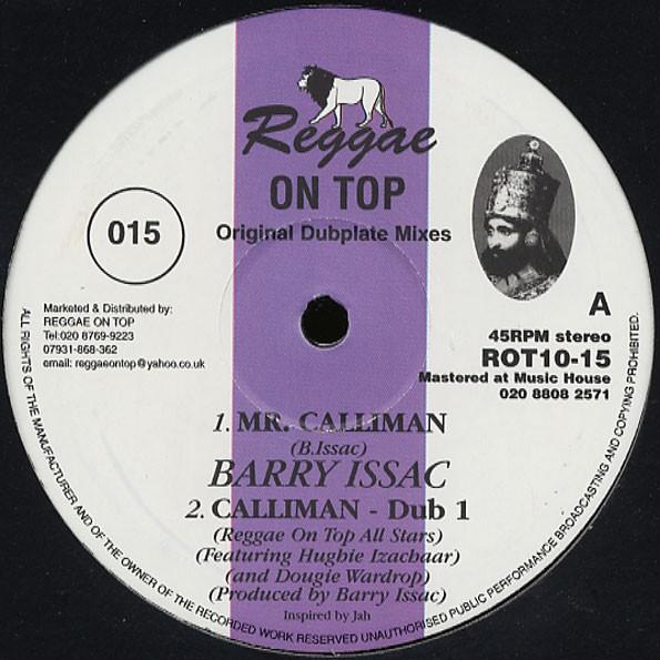 Barry Issac : Mr Calliman   Maxi / 10inch / 12inch     UK