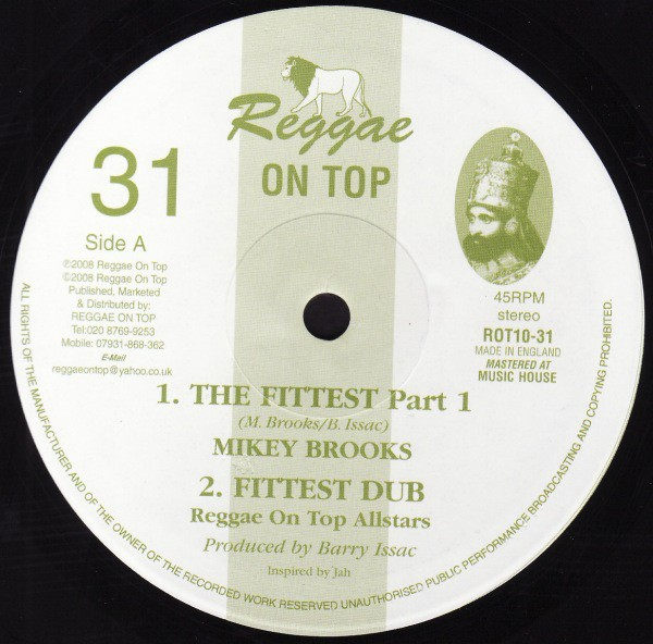 Mike Brooks : The Fittest | Maxi / 10inch / 12inch  |  UK