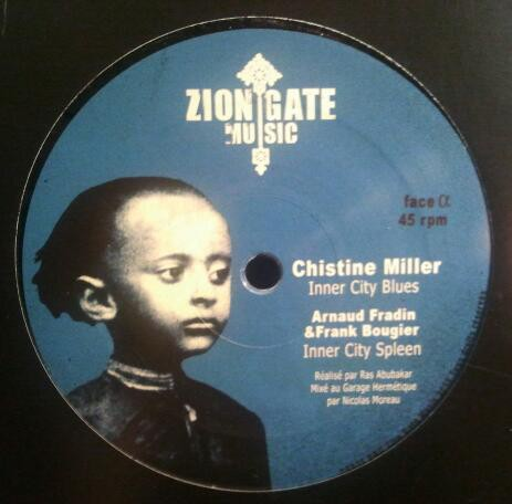 Christine Miller : Inner City Blues | Maxi / 10inch / 12inch  |  Dancehall / Nu-roots