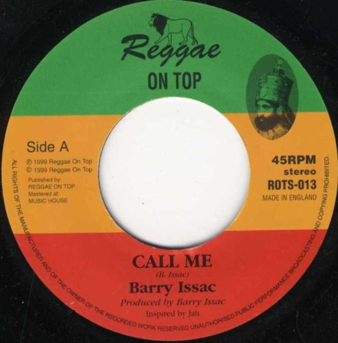 Barry Issac : Call Me   Single / 7inch / 45T     UK
