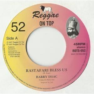 Barry Issac : Rastafari Bless Us   Single / 7inch / 45T     UK
