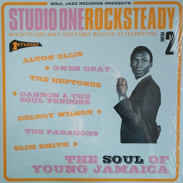 Various : Studio One Rocksteady Volume 2 (Rocksteady, Soul And Early Reggae At Studio One: The Soul Of Young Jamaica) | LP / 33T  |  Oldies / Classics