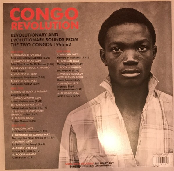 Various : Congo Revolution (Revolutionary And Evolutionary Sounds From The Two Congos 1955-62)   LP / 33T     Afro / Funk / Latin