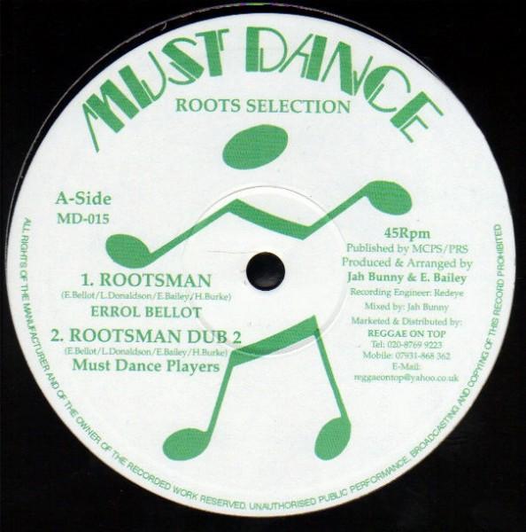 Errol Bellot : Rootsman | Maxi / 10inch / 12inch  |  UK