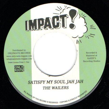 Bob Marley & The Wailers  : Satisfy My Soul Jah Jah