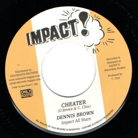 Dennis Brown : Cheater | Single / 7inch / 45T  |  Oldies / Classics