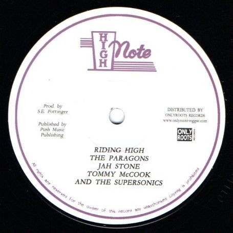 The Paragons, Jah Stone, Tommy McCook & The Supersonics : Riding High