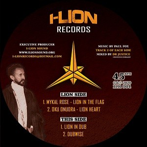 Mykal Rose : Lion In The Flag | Maxi / 10inch / 12inch  |  UK