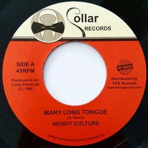 Wendy Culture : Mary Long Tongue