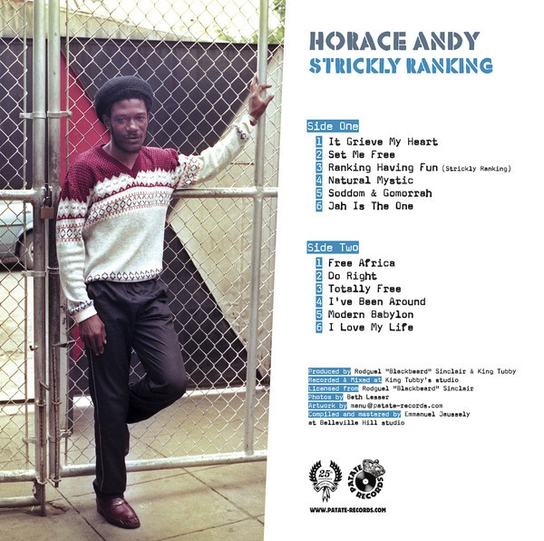 Horace Andy : Strickly Ranking | LP / 33T  |  Oldies / Classics