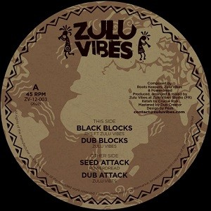 Roots Keepers Ft Zulu Vibes : Black Blocks | Maxi / 10inch / 12inch  |  UK