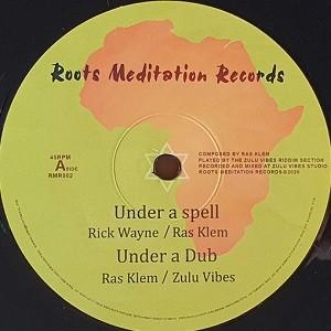 Rick Wayne : Under A Spell   Maxi / 10inch / 12inch     UK