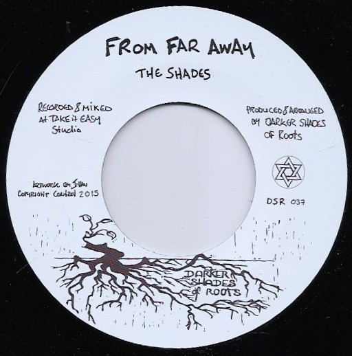 the shades : From Far Away   Single / 7inch / 45T     UK
