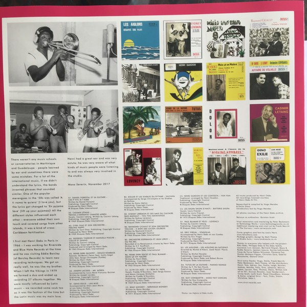Various : Disques Debs International Volume 1 (An Island Story: Biguine, Afro Latin & Musique Antillaise 1960-1972)   LP / 33T     Afro / Funk / Latin