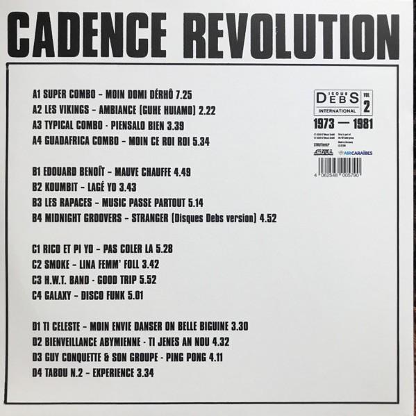 Various : Disques Debs International Vol 2 (Cadence Revolution 1973-1981)   LP / 33T     Afro / Funk / Latin