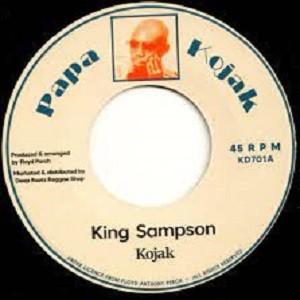 Kojak : King Sampson | Single / 7inch / 45T  |  Oldies / Classics