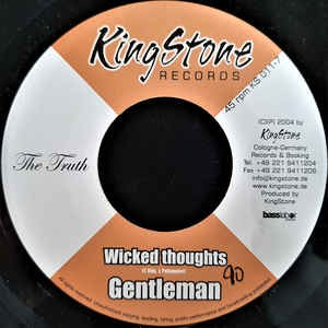 Gentleman : Wicked Thoughts | Single / 7inch / 45T  |  Dancehall / Nu-roots
