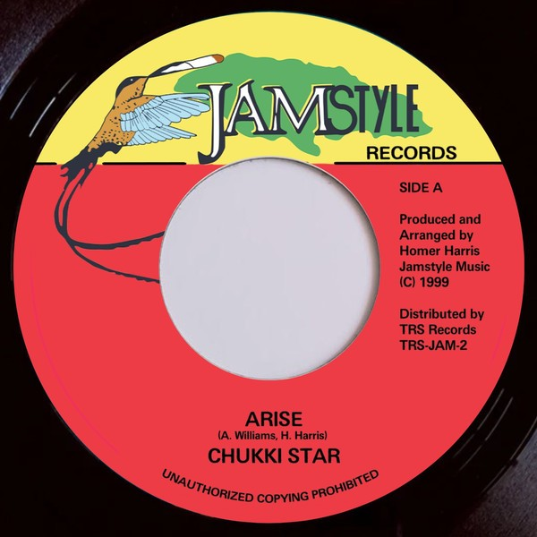 Chukki Star : Arise   Single / 7inch / 45T     Oldies / Classics