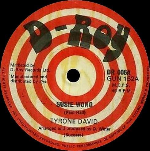 Tyrone David : Suzie Wong | Single / 7inch / 45T  |  Oldies / Classics