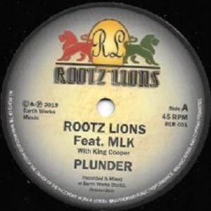 Rootz Lions : Plunder   Single / 7inch / 45T     UK