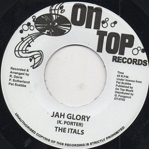 The Itals : Jah Glory   Single / 7inch / 45T     Oldies / Classics