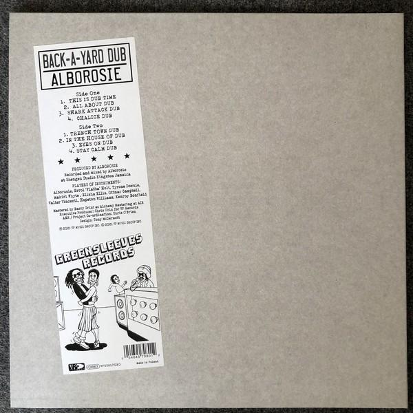 Alborosie : Back-A-Yard Dub | LP / 33T  |  Dancehall / Nu-roots