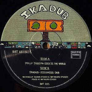 Sick In The World : Jolly Joseph   Single / 7inch / 45T     UK