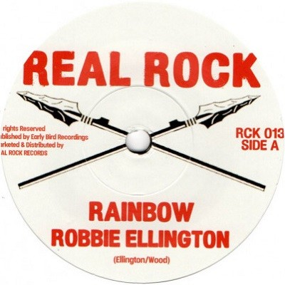 Robbie Ellington : Rainbow   Single / 7inch / 45T     UK