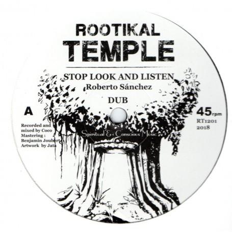 Roberto Sanchez : Stop Look And Listen   Maxi / 10inch / 12inch     UK