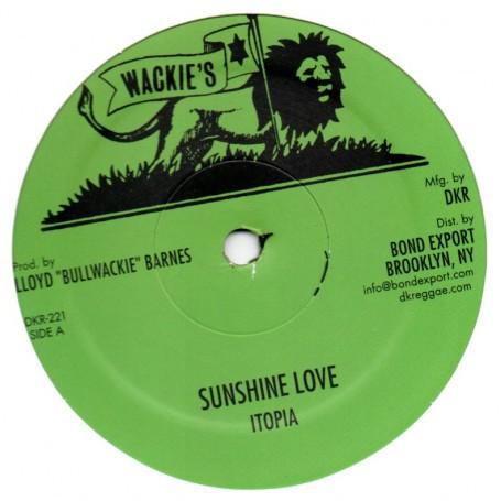 Itopia : Sunshine Love | Maxi / 10inch / 12inch  |  Oldies / Classics