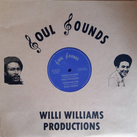 Willi Williams : Freedom Time   Maxi / 10inch / 12inch     Oldies / Classics