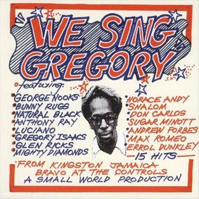 Various : We Sing Gregory | LP / 33T  |  Dancehall / Nu-roots
