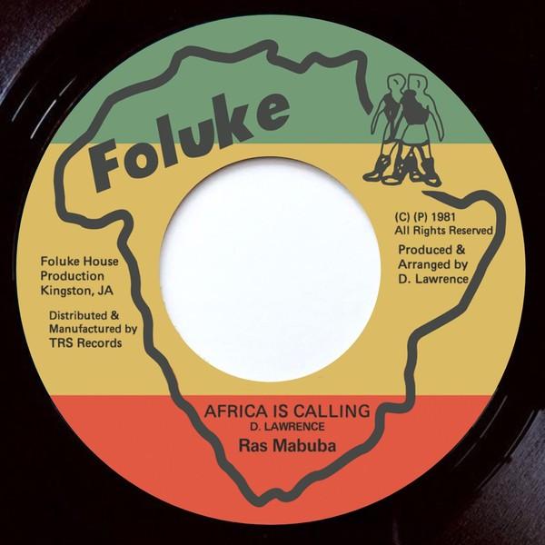 Ras Mabuba : Africa Is Calling | Single / 7inch / 45T  |  Oldies / Classics